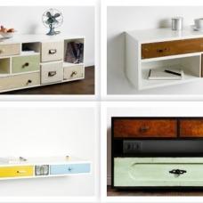 La cassettiera vintage per arredare il corricoio o l'ingresso