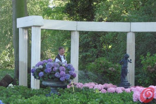 La fiera nel parco della villa di Beervelde