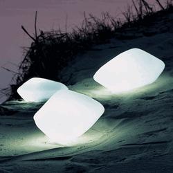 Le lampade a forma di pietra: suggestività e magia