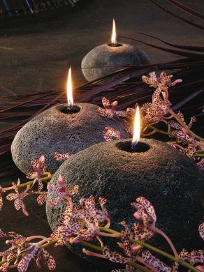 Le lucerne in pietra, per una decorazione davvero priomordiale