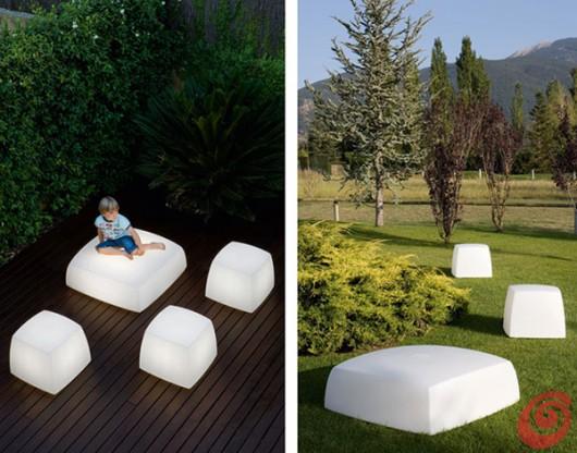 Lampada o seduta? Soluzioni innovative per l'illuminazione giardino