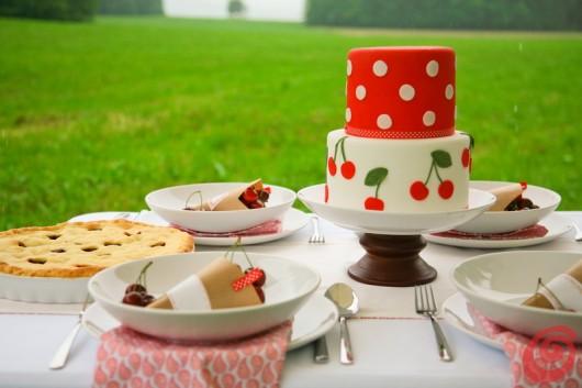 La sontuosa torta alle ciliegie