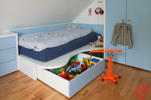 Il letto per la cameretta adatta al bimbo e all'adolescente