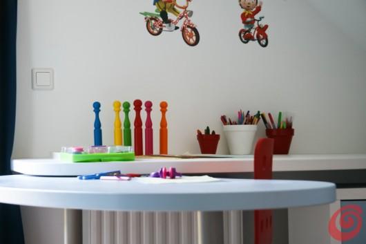 Lo spazio sopra la scrivania