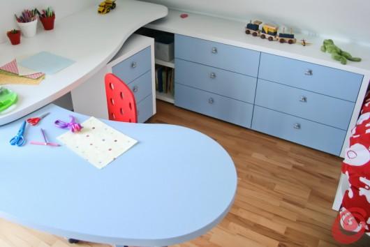 I ripiano intorno alla scrivania