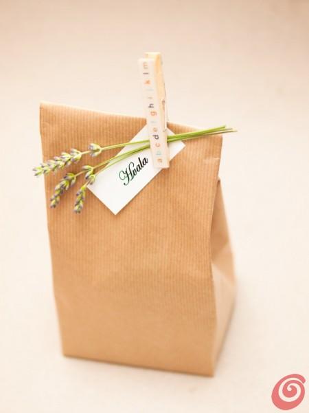 Il sacchetto per la confezione regalo fai da te