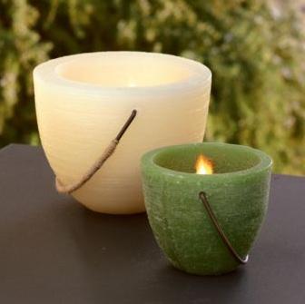 Le candele profumate tengono lontane le zanzare