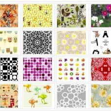 Alcune delle fantasie disponibili su Spoonflower