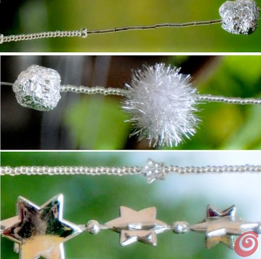 Le decorazioni per i fili dello scacciaspiriti