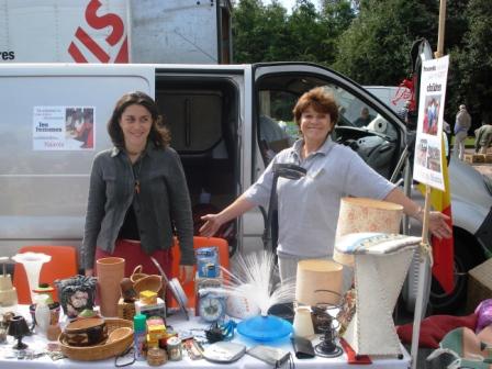 Un mercatino delle pulci in Belgio