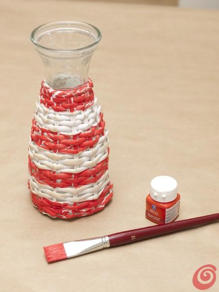 La bottiglia che farà da faro sulla nostra tavola apparecchiata e decorata alla marinara.