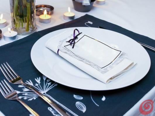 La decorazione tavola fai da te è pronta!