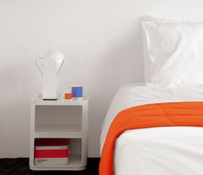Una camera dell'hotel Pantone