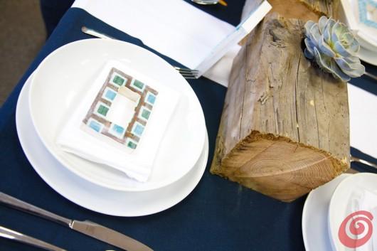 La decorazione per tavola apparecchiata fai da te che farà sentire più leggera anche la canicola e la crisi.