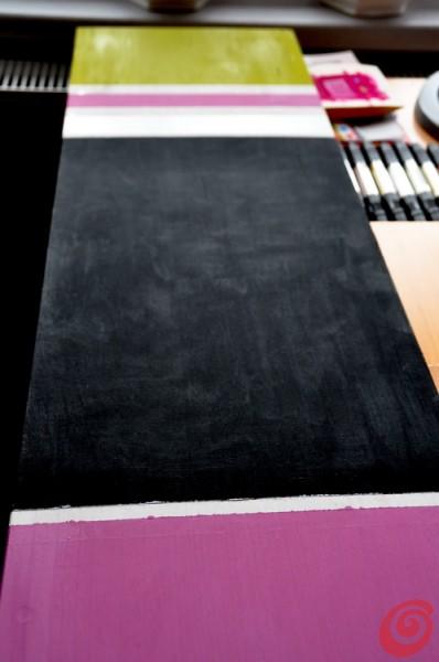 Doma narejena magnetna tabla za šolarje in pisarno