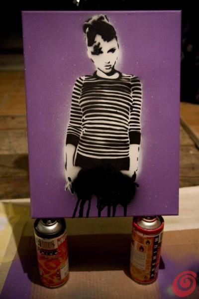 Street art con Shine!
