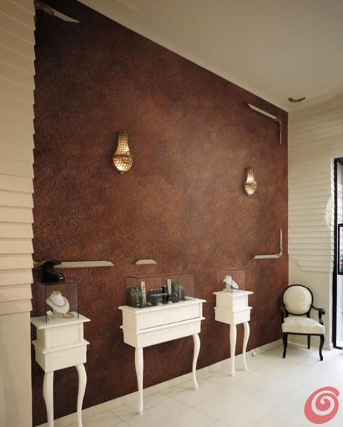 Decorare le pareti con Antico ferro della Oikos