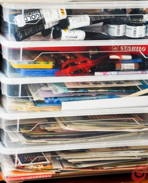 lo spazio creativo in casa prende forma: una fonte di idee anche per un angolo studio