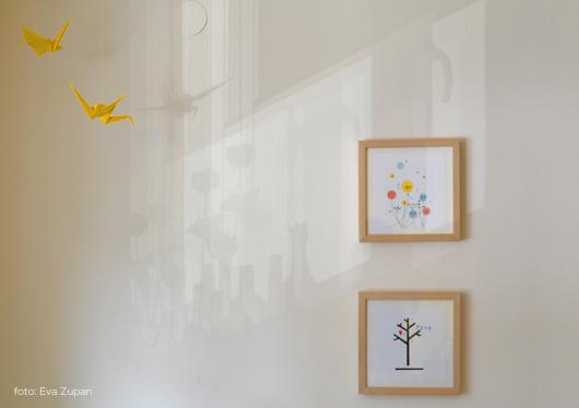 come decorare le pareti della casa, del soggiorno, del bagno, dell'ufficio ... con le nostre illustrazioni da stampare gratis