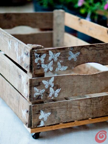 Come decorare cassette di legno aq41 regardsdefemmes for Idee fai da te per arredare casa