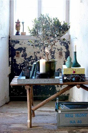 House doctor, la contaminazione di stili è trendy: oggetti vintage e complementi d'arredo nuovi