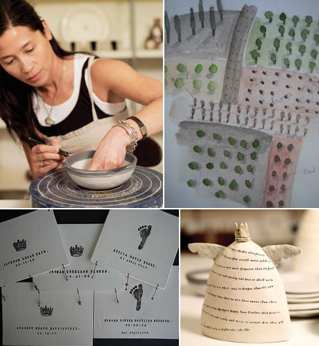 la ceramista rae dunn e le sue creazioni