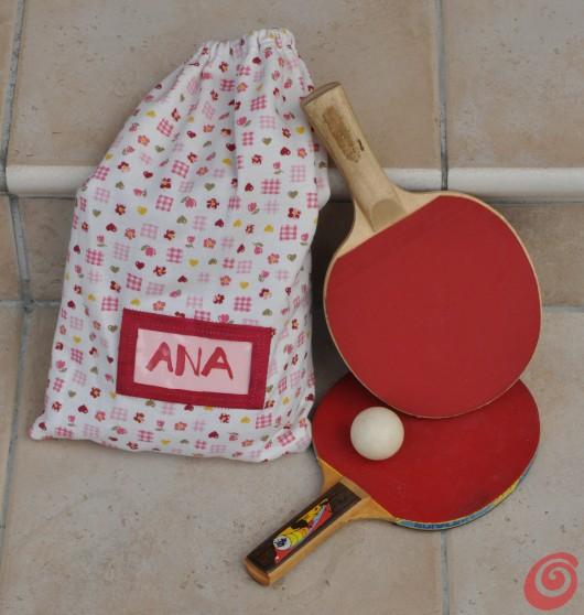 Una borsa sacchetto fai da te per la scuola