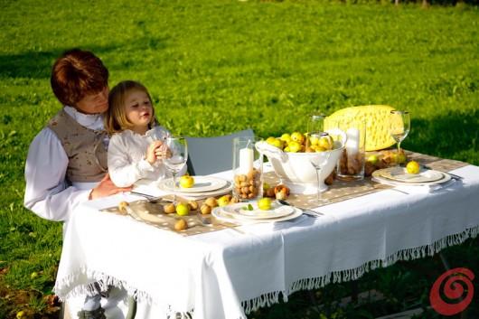 Idee per apparecchiare la tavola autunnale le mele casa e trend - Una bella tavola apparecchiata ...
