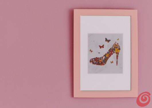 Abbinare il quadro all'ambiente: coloriamo la cornice
