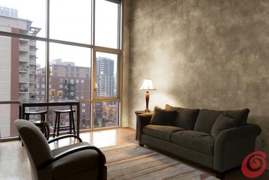Decorare le pareti la velatura casa e trend for Muro spugnato