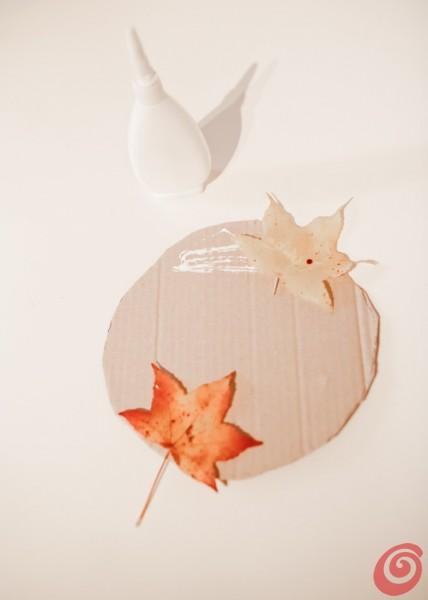 le decorazioni con le foglie autunnali per la casa e per la classe: lavori fai da te