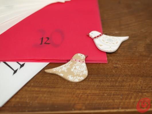 il calendario dell'avvento con le buste: un'idea semplice, veloce e facile da realizzare