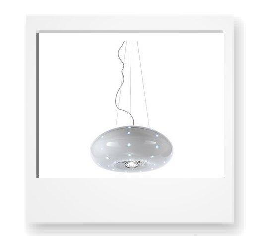 desideri per i regali di Natale, la lampada a sospensione di Fabbian