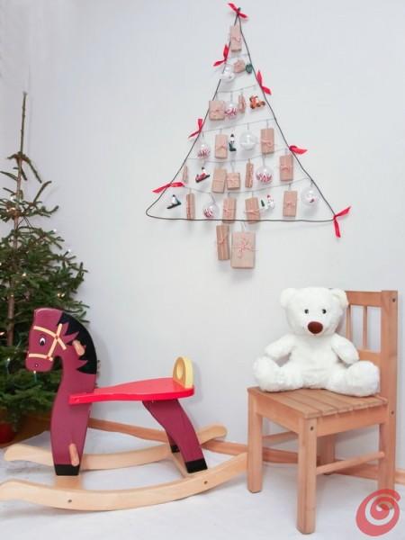 il calendario dell'Avvento che farà anche da decorazione natalizia