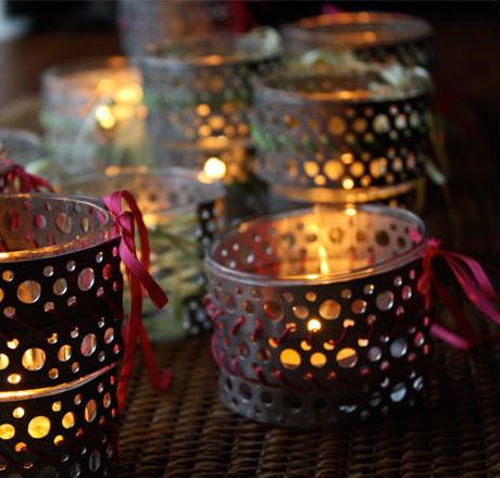 decorare la casa con i lumini di NUNC - decorazioni scandinave per la casa di Natale