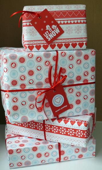 allihopa - le confezioni regalo nel classico bianco e rosso