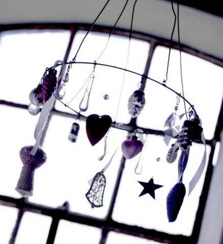 decorazioni scandinave - Il natale nei toni del blu da Bloomingville