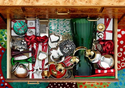 Addobbi natalizi e confezioni regalo variopinti dal nord, Svenskt Tenn, i colori dalla Scandinavia