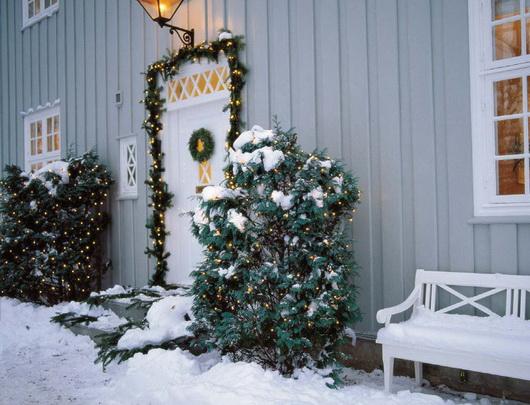 Addobbi natalizi ispirazioni per decorare la casa casa e trend - Addobbi natalizi per la porta ...