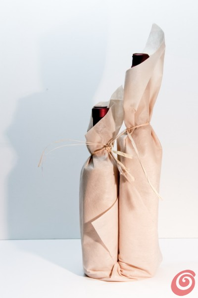 tutorial per le confezioni regalo fai da te per le bottiglie