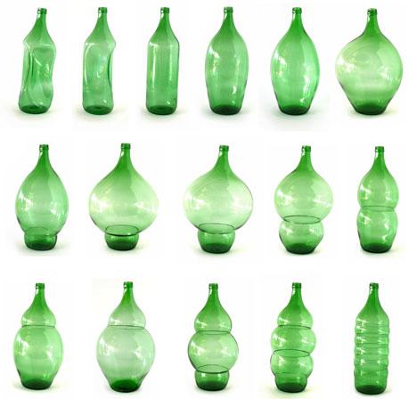 klaas kuiken, le bottiglie verdi e le casette per gli uccelli