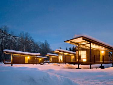 casette spartane per le vacanze, all'insegna dell'essenzialità e del contatto con la natura