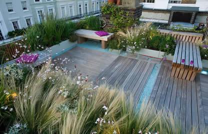 Il giardino in una fioriera, 11a parte: i terrazzi esposti al sole e ...