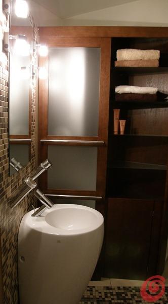 Ristrutturare e arredare un bagno piccolo dal progetto alla realizzazione casa e trend - Piatto doccia triangolare ...