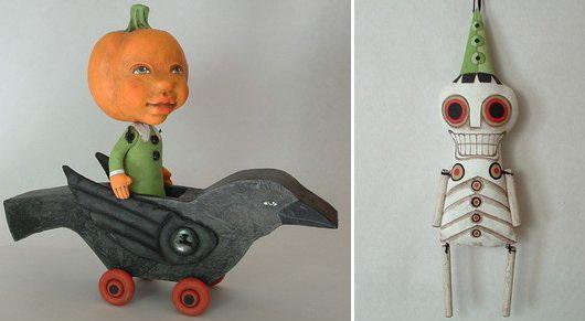 Marionette d'autore: giocattoli con qualcosa da raccontare. Morbidi giocattoli con visi magici e personaggi inaspettati - per i bambini dotati di fantasia.