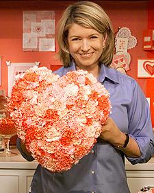 Il garofano, considerato per qualche decennio il fiore della nonna, è tornato a farsi vedere sulle passerelle delle sfilate di moda.Martha Stewart
