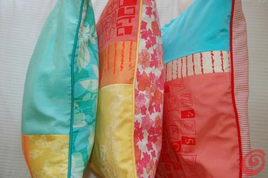 Zoe Murphy e le sue idee di riciclo - stampe, colori brillanti e tanto ottimismo!