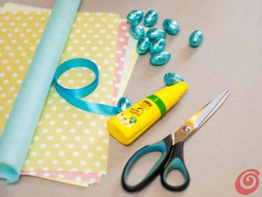 Le feste che ci attendono durante questa primavera sono un ottimo spunto per decorare la tavola con i cornetti che possono fare anche da bomboniera!