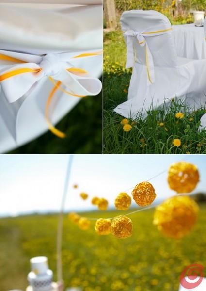 Matrimonio In Giallo E Bianco : Un matrimonio giallo come la primavera u2013 casa e trend