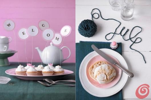 Le foto di Julia Hoersch: idee semplici per decorare i dolci